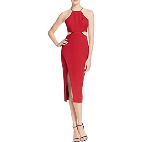 33211901f7e cinq a sept Dresses & Skirts - $375 Cinq A Sept Yael Red Dress Size 0